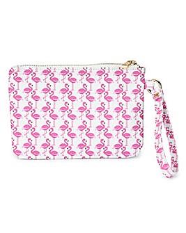 Flamingo Print Purse