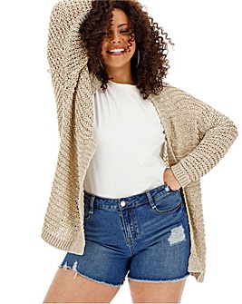 Stone Tape Yarn Cardigan