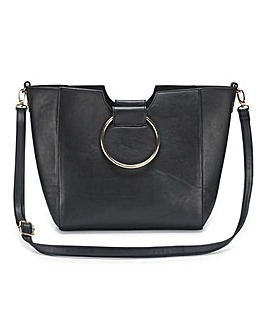 Joanna Hope Ring Detail Tote Bag