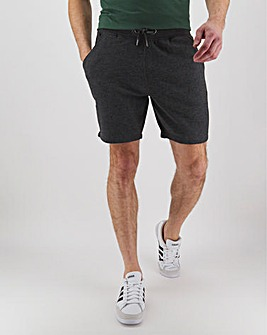Charcoal Fleece Jog Shorts