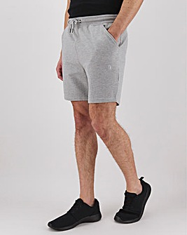 Light Grey Fleece Jog Shorts