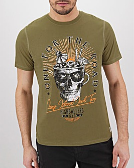 Skull Highballer Graphic T-Shirt