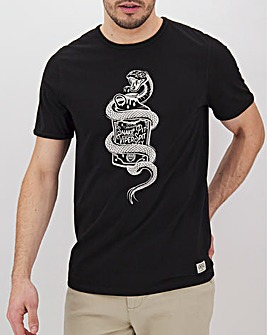 Viper Bottle Graphic T-Shirt Long