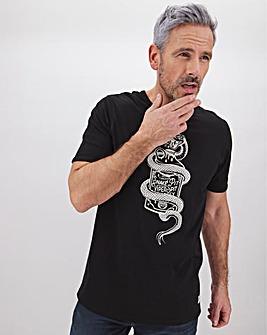 Viper Bottle Graphic T-Shirt Long
