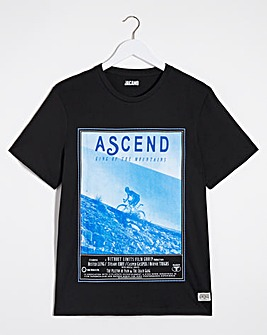 Cyclist Graphic T-Shirt Long