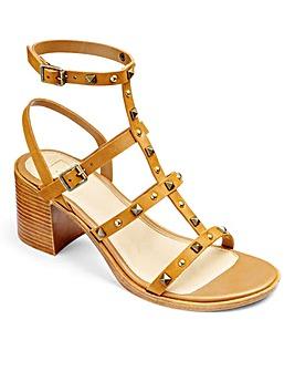 Sole Diva Block Heel Sandals