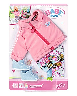 Baby Born Deluxe Scooter Outfit