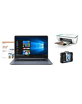 Asus 14 Intel 4GB 64GB Office 365 + Case