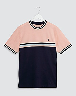 Colour Block T-Shirt Long