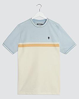 Colour Block T-Shirt Long