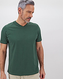 Core V Neck T-Shirt Long