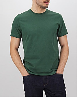 Pine Green Crew Neck T-Shirt