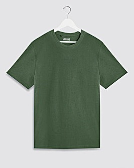 Pine Green Crew Neck T-Shirt Long