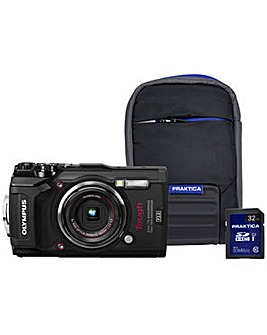 Olympus TG-5 Tough Camera Kit