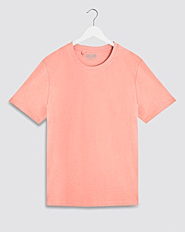 Pink Crew Neck T-Shirt Long