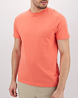 Coral Crew Neck T-Shirt Long