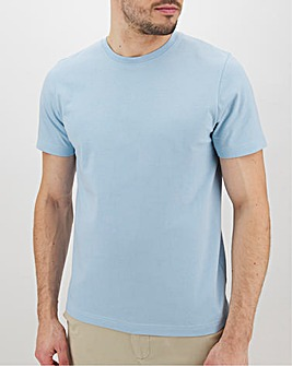 Sky Blue Crew Neck T-Shirt Long