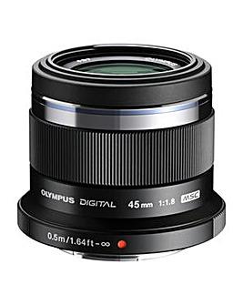 Olympus M.Zuiko Digital 45mm Lens