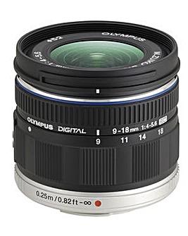 Olympus M.Zuiko Digital ED 9-18mm Lens