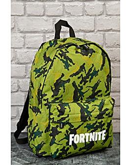 Fortnite Bag Light Green Camouflage
