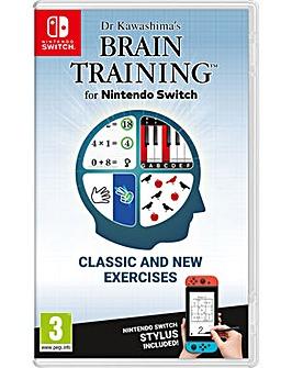 Dr Kawashimas Brain Training Switch
