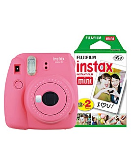 Fujifilm Instax Mini 9 Camera + 30 Shots