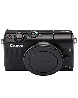 Canon EOS M100 CSC Camera Body Black