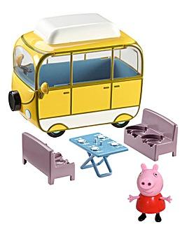Peppa Pig Deluxe Campervan Set