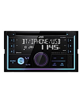 JVC KW-R930BT Car Stereo CD Receiver with Bluetooth, USB, AUX Input and Spotify
