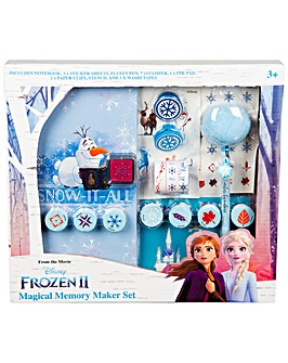 Disney Frozen 2 Super Journal Set Contains Notebook And Plush Ball Pen