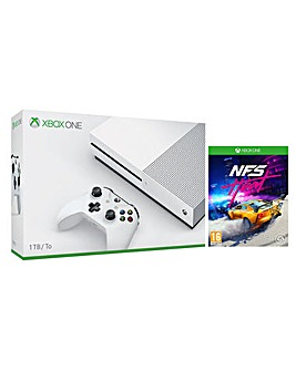 Xbox One S 1Tb and Need For Speed  Heat