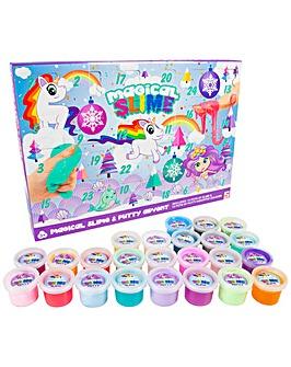 Magical Rainbow Slime Advent Calendar