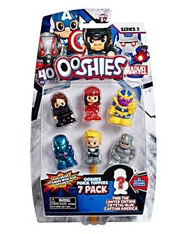 Ooshies Marvel 7 Pack