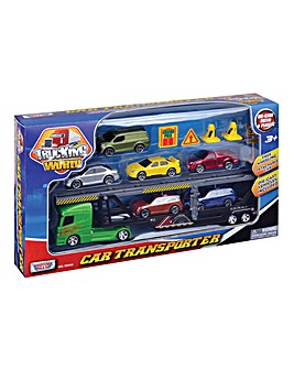 Car Transporter with Cars & Accessories