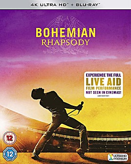 Bohemian Rhapsody 4k Bluray
