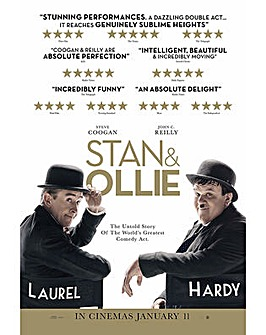 Stan and Ollie Bluray