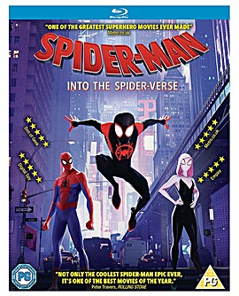 Spider Man Into The Spider Verse Bluray