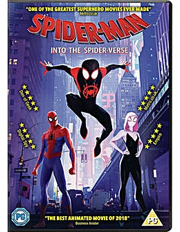 Spider Man Into The Spider Verse DVD
