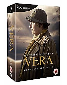 Vera Series 1 to 9 DVD