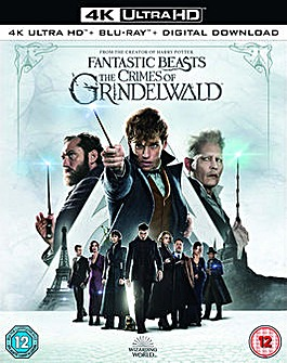 Fantastic Beasts Crimes Grindelwald 4kBR