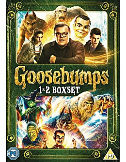 Goosebumps 1 and 2 DVD