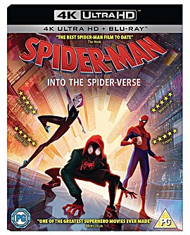 Spider Man Into The Spider Verse 4k BR