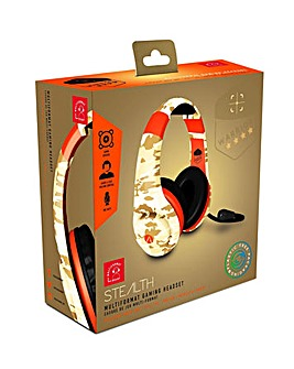 Stealth XP Warrior Camo Gaming Headset