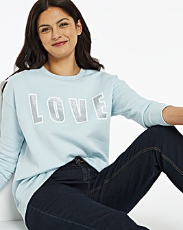 Love Placement Sweatshirt