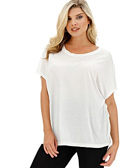 White Slouch T-Shirt