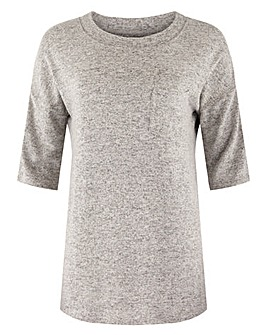 Grey Marl Soft Touch T-Shirt