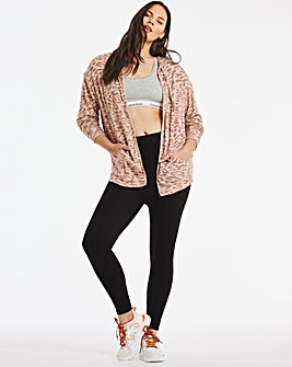 Animal Print Soft Touch Hoodie