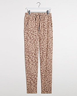 Animal Print Soft Touch Jogpant