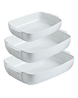 Pyrex Signature Rectangular Roaster Set
