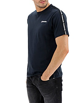 Lambretta Taped Sleeve T-Shirt Long